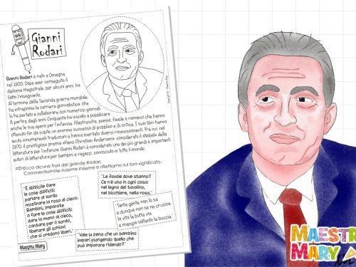 Gianni Rodari – scheda biografica