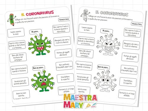 Coronavirus: scheda di verifica