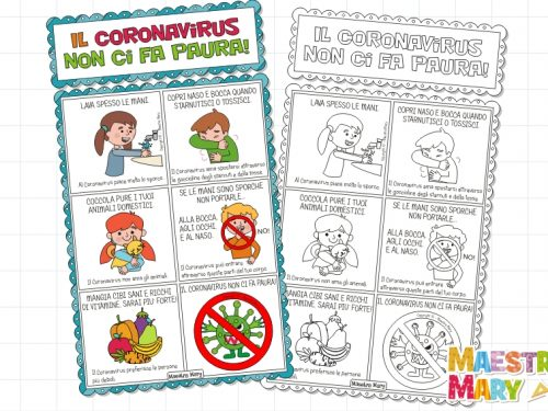 Coronavirus: cartello delle regole