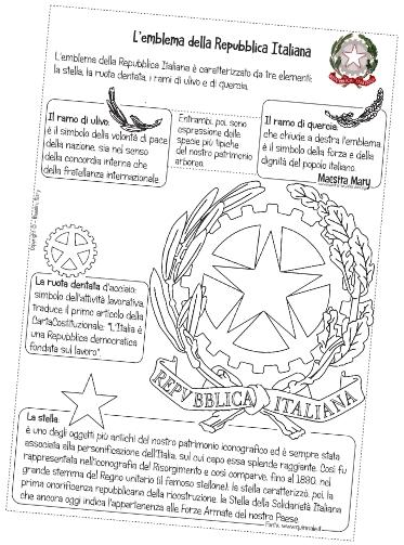 cittadinanza e costituzione schede