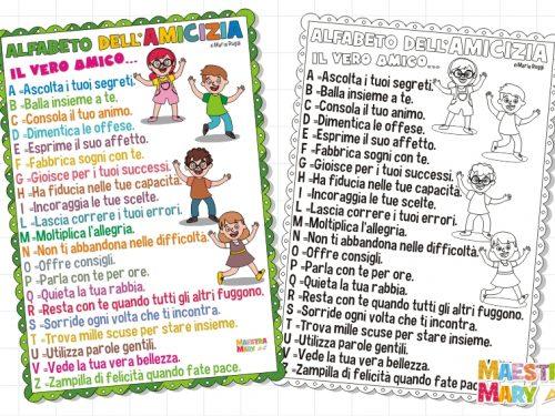 L'alfabeto dell'Amicizia