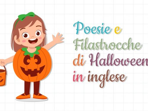 Poesie e Filastrocche di Halloween in inglese