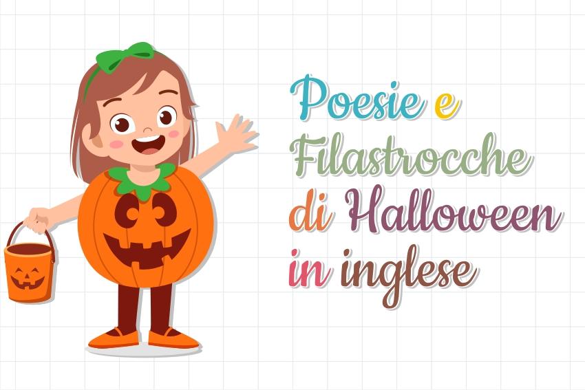 poesie e filastrocche halloween inglese