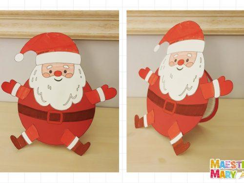 Biglietto – lavoretto di Babbo Natale