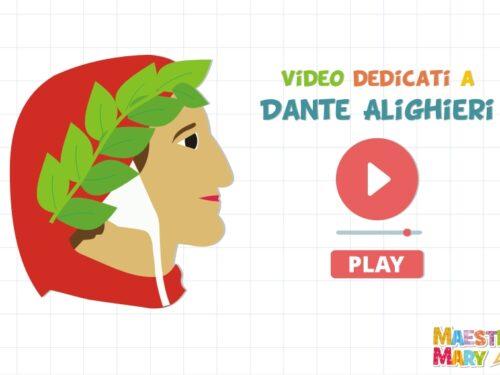 Video e canzoni per bambini dedicati a Dante Alighieri
