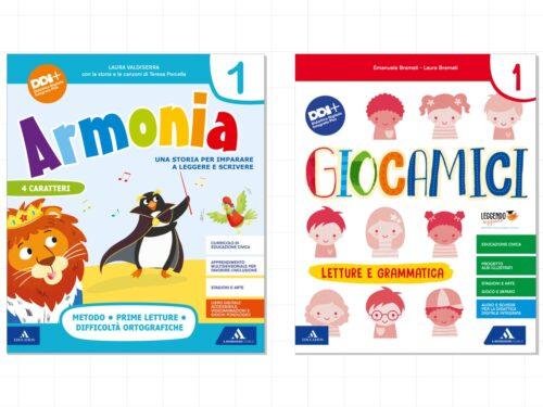 Armonia e Giocamici: novità Mondadori Education