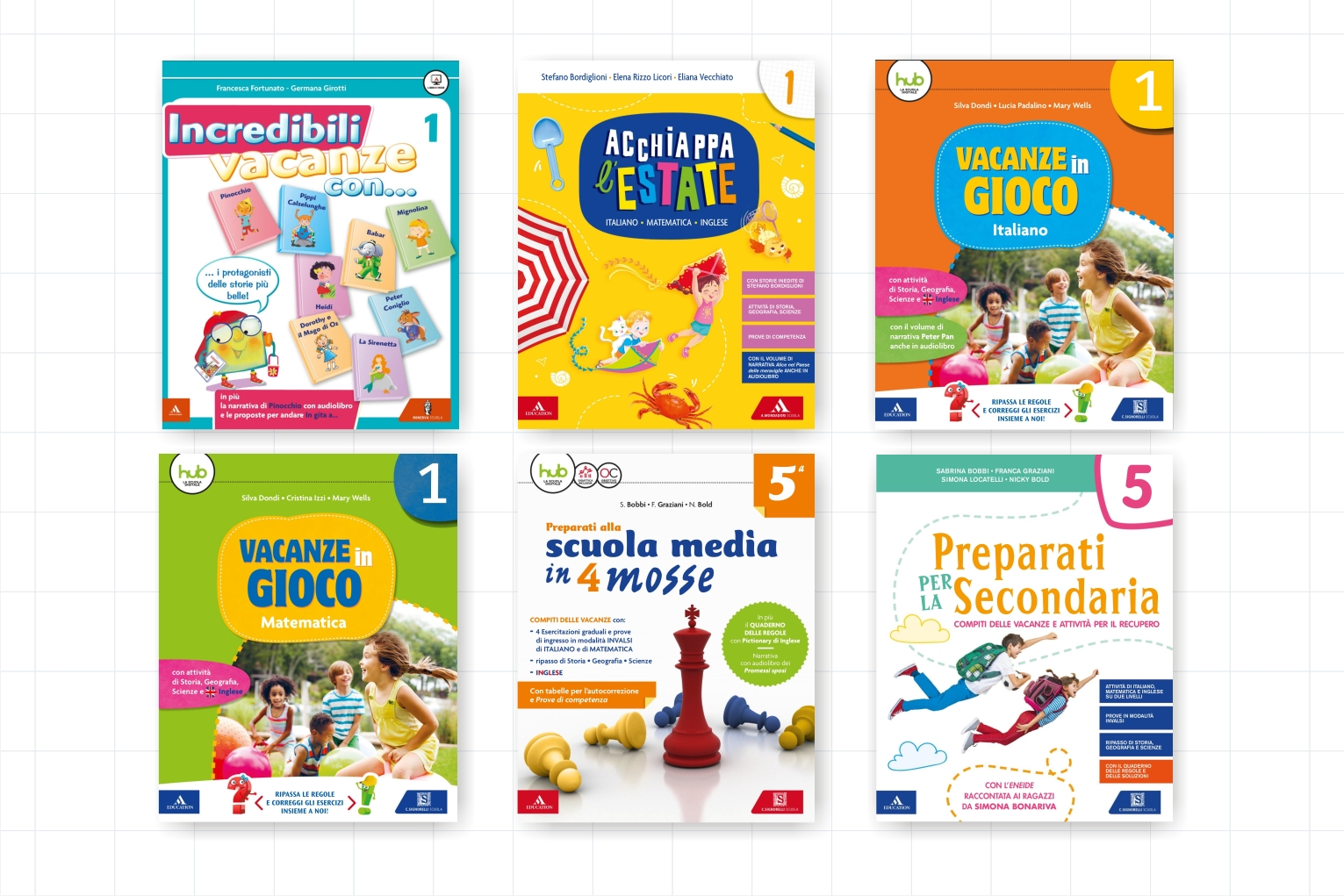 libri per le vacanze Mondadori Education