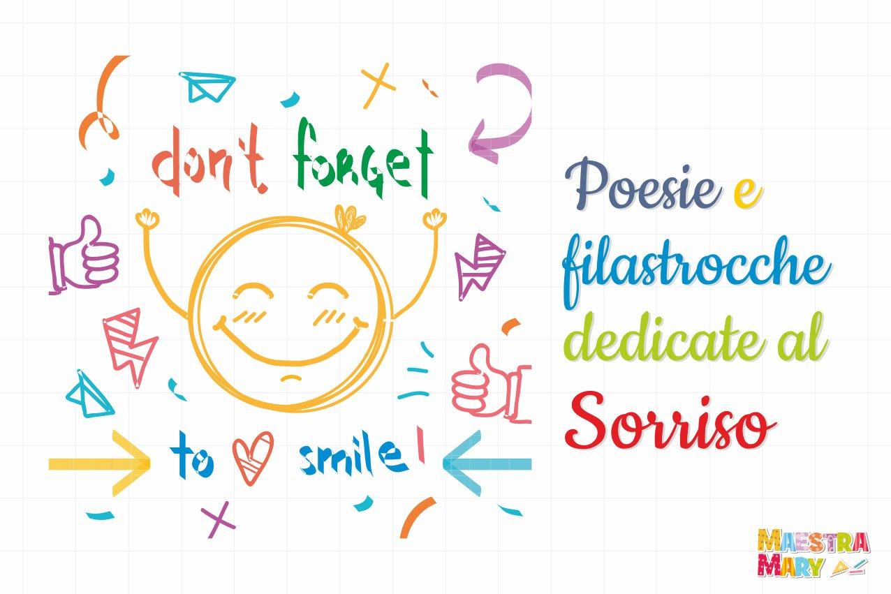 poesie e filastrocche sorriso
