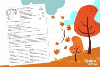 schede didattiche autunno
